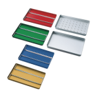 Aluminium Norm-Tray Boden ungelocht