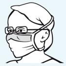 Foliodress mask Comfort Anti fogging